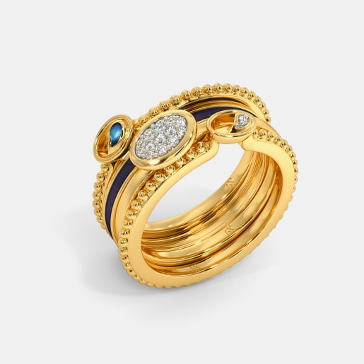 The Latifa Stackable Ring