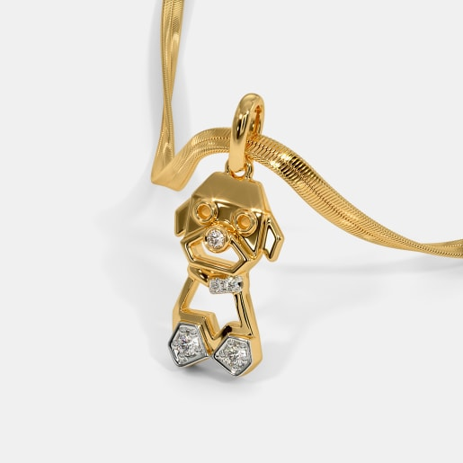 The Puppy Pendant For Kids