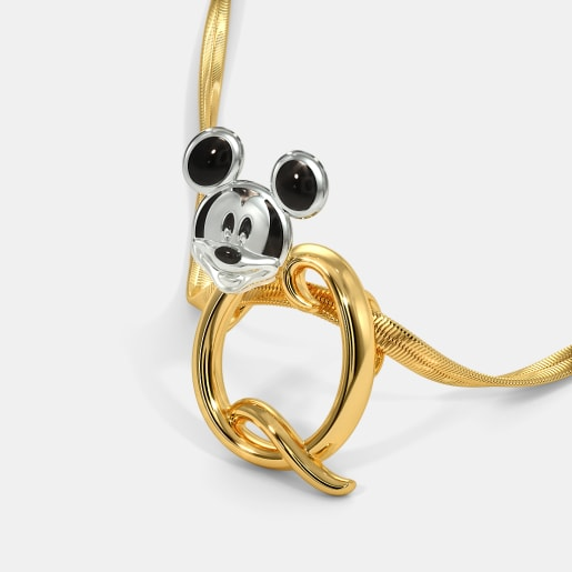 The Q For Quirky Mickey Pendant For Kids