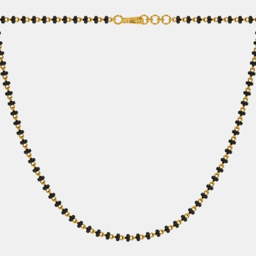 The Microbead Mangalsutra Single Line Full Chain