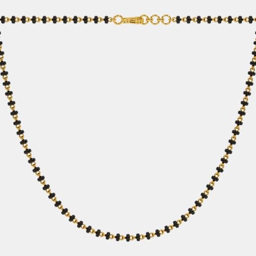 The Microbead Mangalsutra Single Line Full Chain
