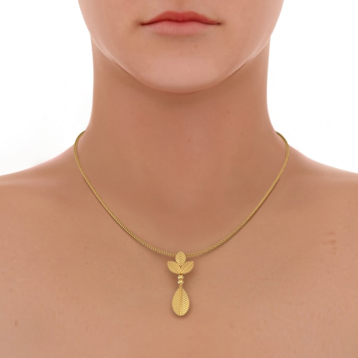 The Preen Petiole Pendant